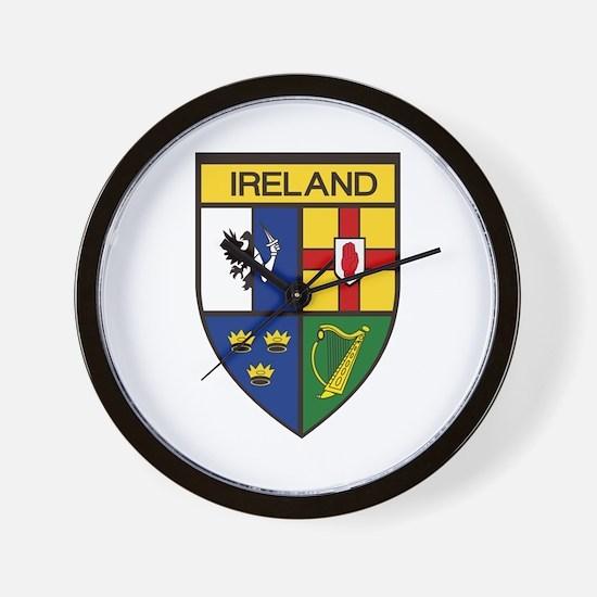 Irish Shield Wall Clock