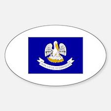 Louisiana Flag Decal