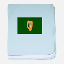 Irish Flag baby blanket