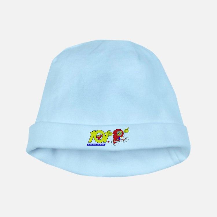 101 Runaway Radio H baby hat