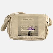 FM a multitude of symptoms Messenger Bag