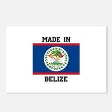 Made in Belize Postcards (Package of 8)