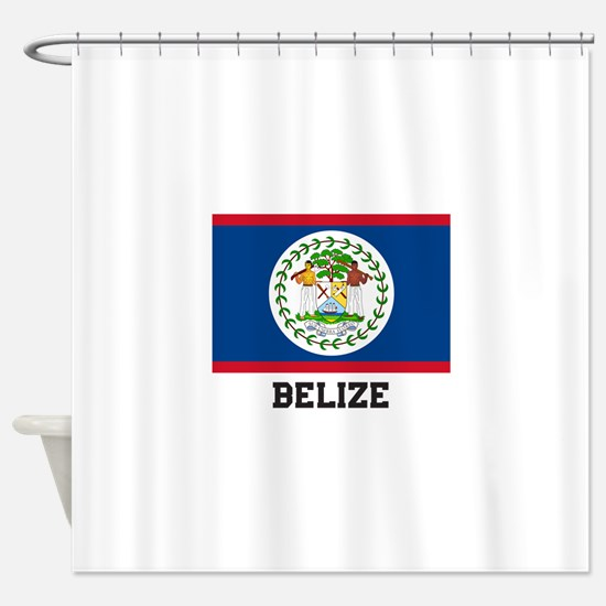 Belize Shower Curtain