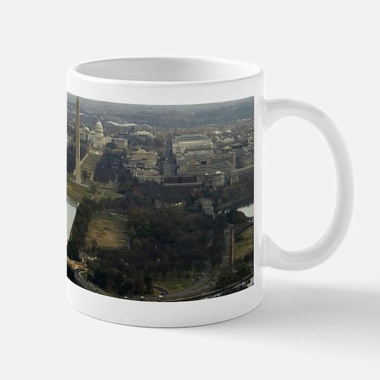 Washington DC Aerial Photograph Mugs