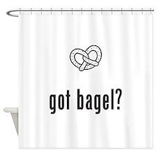 Bagel Shower Curtain