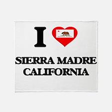 I love Sierra Madre California Throw Blanket