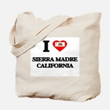 I love Sierra Madre California Tote Bag