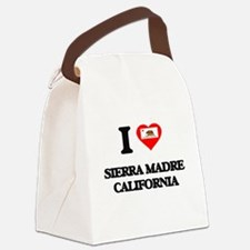 I love Sierra Madre California Canvas Lunch Bag