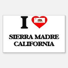 I love Sierra Madre California Decal