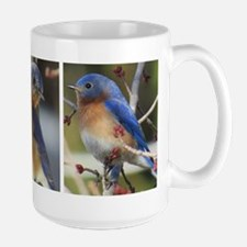 Backside Bluebird Mugs