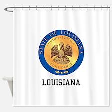 Louisiana State Shower Curtain