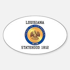 Louisiana Statehood 1812 Decal