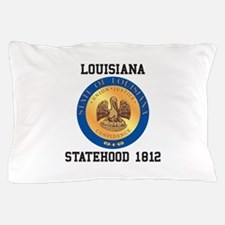 Louisiana Statehood 1812 Pillow Case