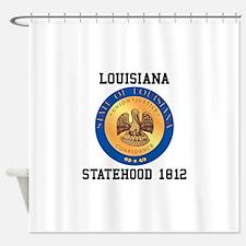 Louisiana Statehood 1812 Shower Curtain