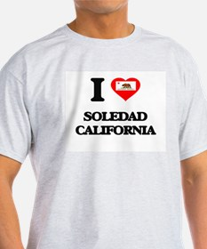 I love Soledad California T-Shirt