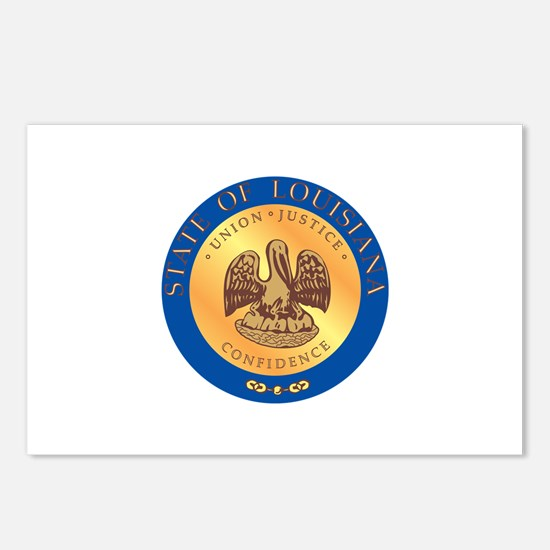 Louisiana State Seal Postcards (Package of 8)