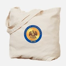 Louisiana State Seal Tote Bag