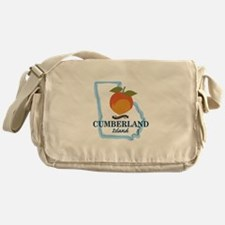 Cumberland Island - Georgia. Messenger Bag