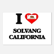 I love Solvang California Postcards (Package of 8)