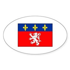 Lyon, France Flag Decal