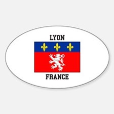 Lyon, France Decal