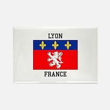 Lyon, France Magnets