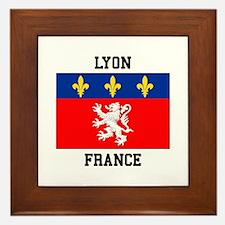 Lyon, France Framed Tile