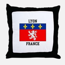 Lyon, France Throw Pillow