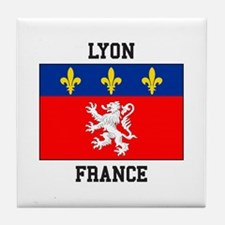Lyon, France Tile Coaster