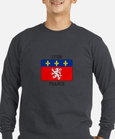 Lyon, France Long Sleeve T-Shirt