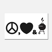 Barbecue Car Magnet 20 x 12