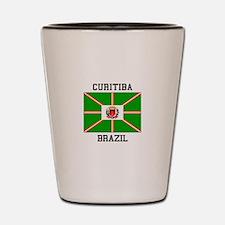 Curitiba Brazil Shot Glass