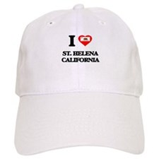 I love St. Helena California Baseball Cap