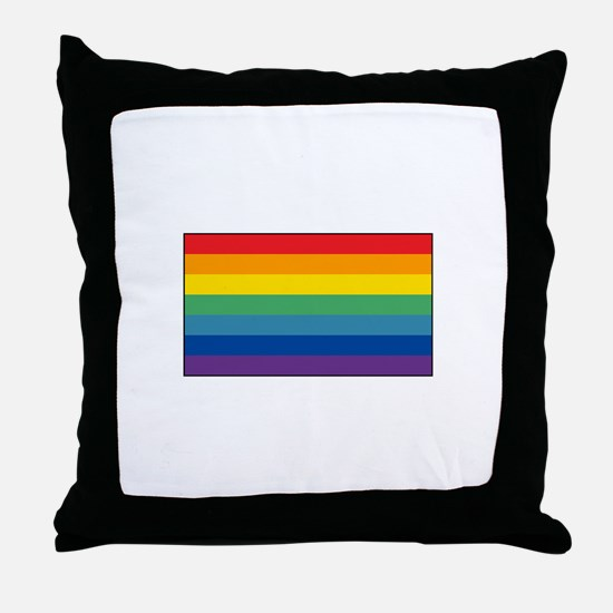 Cusco, Peru Flag Throw Pillow
