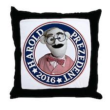 Cute Campaign Throw Pillow