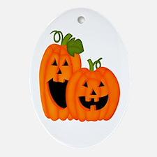 It's Pumpkin Time Oval Ornament