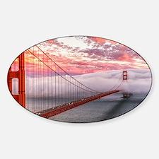 Golden Gate Bridge Decal