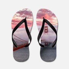 Golden Gate Bridge Flip Flops