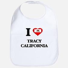 I love Tracy California Bib