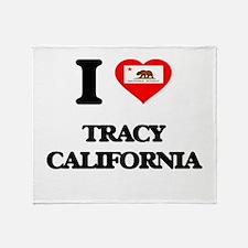 I love Tracy California Throw Blanket