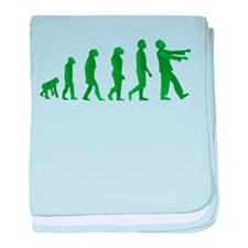Zombie Evolution baby blanket
