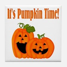 It's Pumpkin Time Tile Coaster