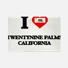 I love Twentynine Palms California Magnets
