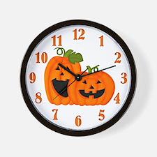 It's Pumpkin Time Wall Clock