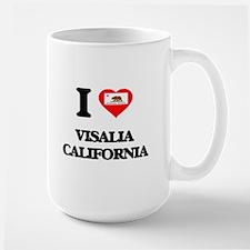 I love Visalia California Mugs
