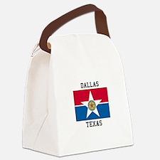 Dallas Texas Canvas Lunch Bag