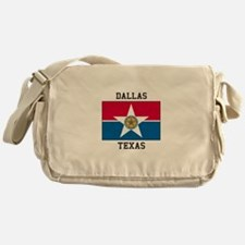 Dallas Texas Messenger Bag