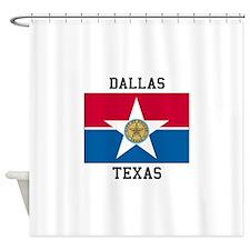 Dallas Texas Shower Curtain