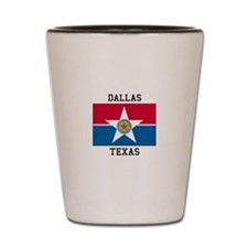 Dallas Texas Shot Glass
