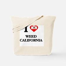 I love Weed California Tote Bag